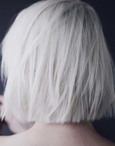 Platinum Blonde Hair Color Styles for 2021