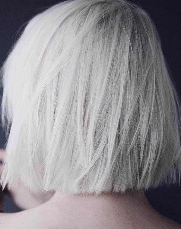 54 Popular Platinum Blonde Hair Color Styles for 2018