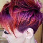Purple Hair Colors for Short Hair 2018