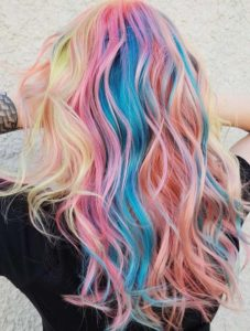 Rainbow Hair Colors to Wear Nowadays