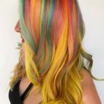 Rainbow & Yellow Hair Coloring Techniques in 2021