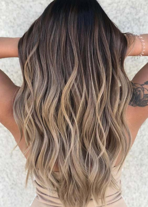 41 Best Sandy Blonde Balayage Hair Color Trends in 2021