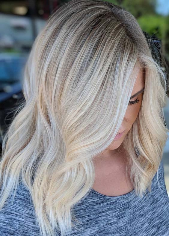 39 Seamless Blonde Hair Color Shades to Sport in 2018