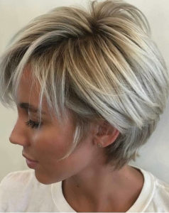 Short Ash Blonde Hairstyles for 2021