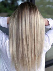 Sleek Straight Balayage Hairstyles for 2021