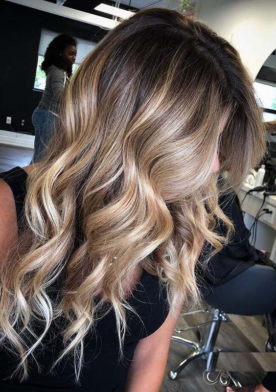 58 Stunning Balayage Ombre Hair Color Ideas in 2021