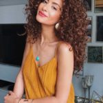 Stunning Long Thick Curls to Wear in 2018