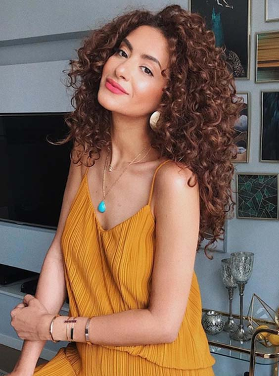 40 Stunning Long Thick Curls to Wear in 2021