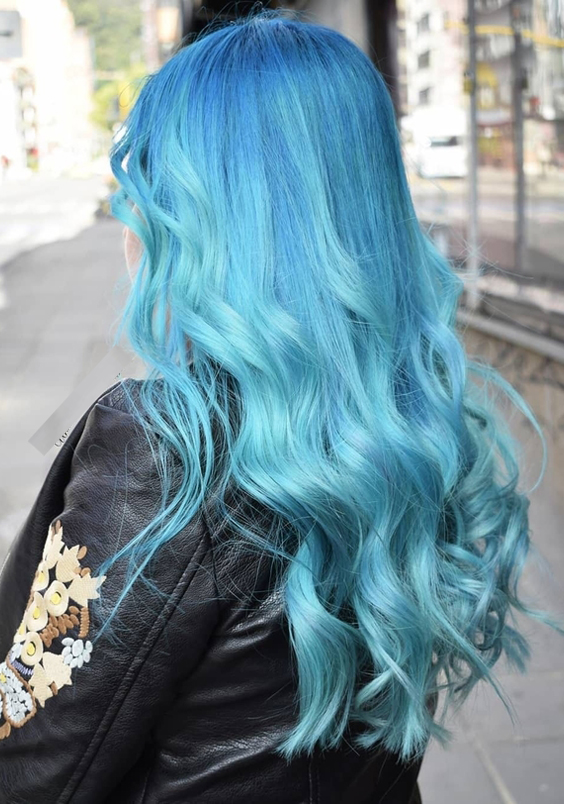 22 Stunning Looks of Blue Hair Colors for 2018