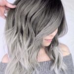 Stunning Silver Hair Colors with Dark Roots in 2018