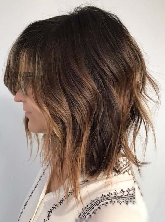 25 Best Textured Lob Styles You Need to Follow Right Now