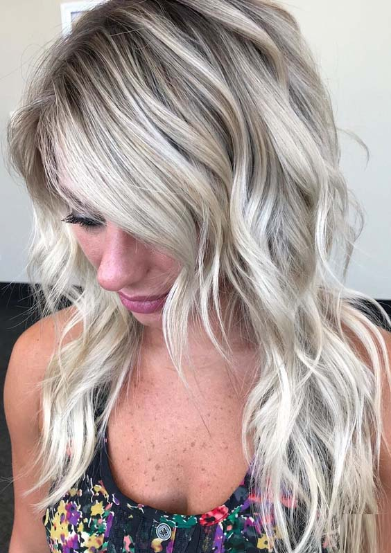 54 Fantastic Tousled Textures Blonde Haircuts for 2021