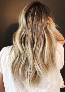 Vanilla Blonde Highlights in 2018