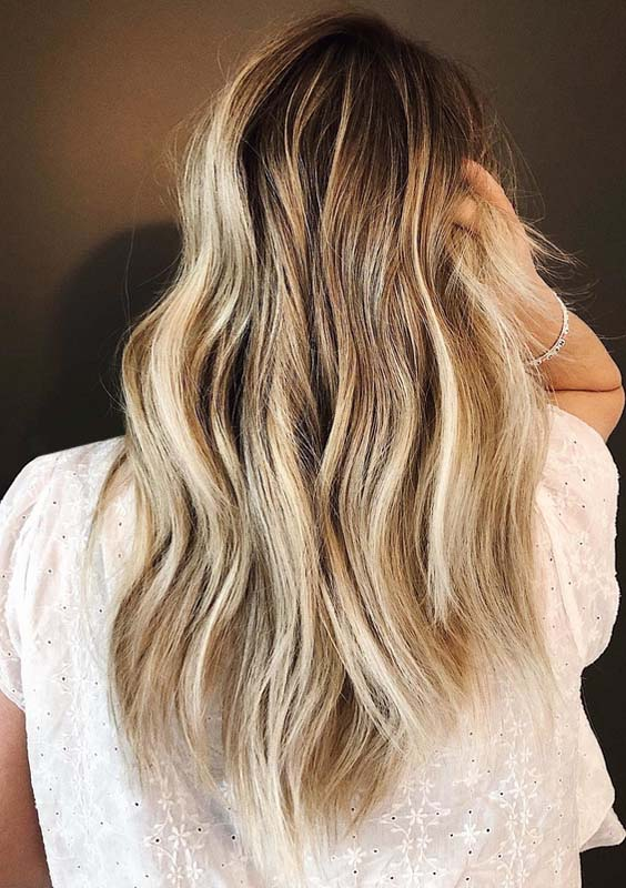 24 Amazing Vanilla Blonde Highlights to Sport in 2018