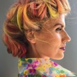 Vintage Vivid Hair Colors & Upod Style in 2018