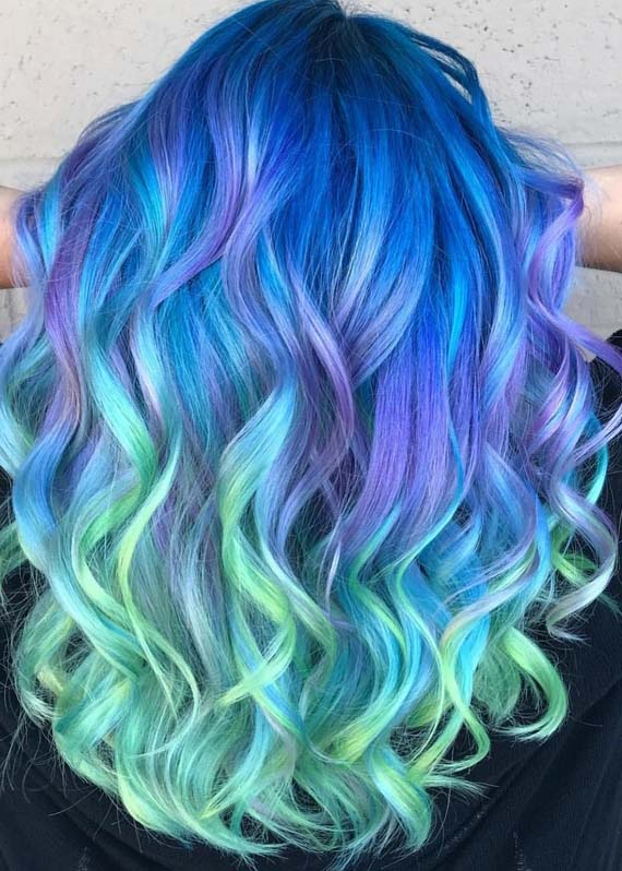 Amazing Pulp Riot Hair Color Styles & Trends for 2018