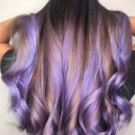 Beautiful Lavender Balayage Hair Color Shades for 2021