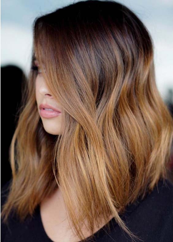 Popular Trends Of Copper Hair Color Blends in 2018