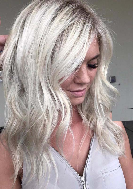 Fabulous Blonde Hair Colors & Highlights for Women in 2018