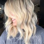 Favorite Blonde Lob Styles for 2021