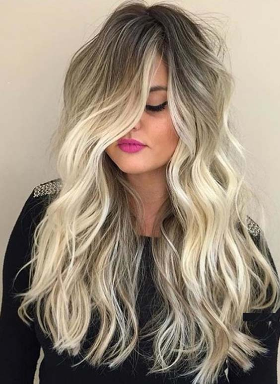 Glorious Trends Of Blonde Balayage Hair Colors for 2021