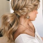 Gorgeous Textured Braided Ponytail Hairstyles for 2021