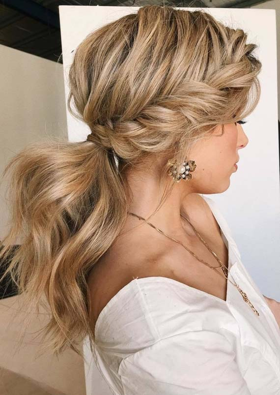 Amazing Trends Of Textured Braided Ponytail Hairstyles 2018