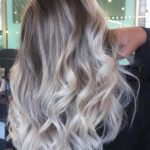 Ice Blonde Balayage Hair Color Trends for 2021