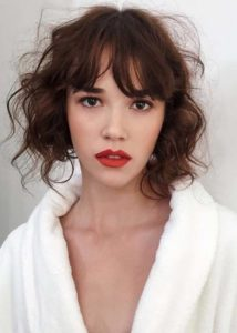 Loose Curls for Short Haircuts in 2018