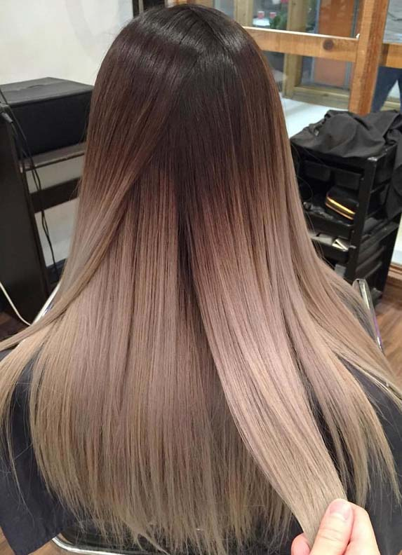 Modern Hair Color Blends & Combinations for Women 2018