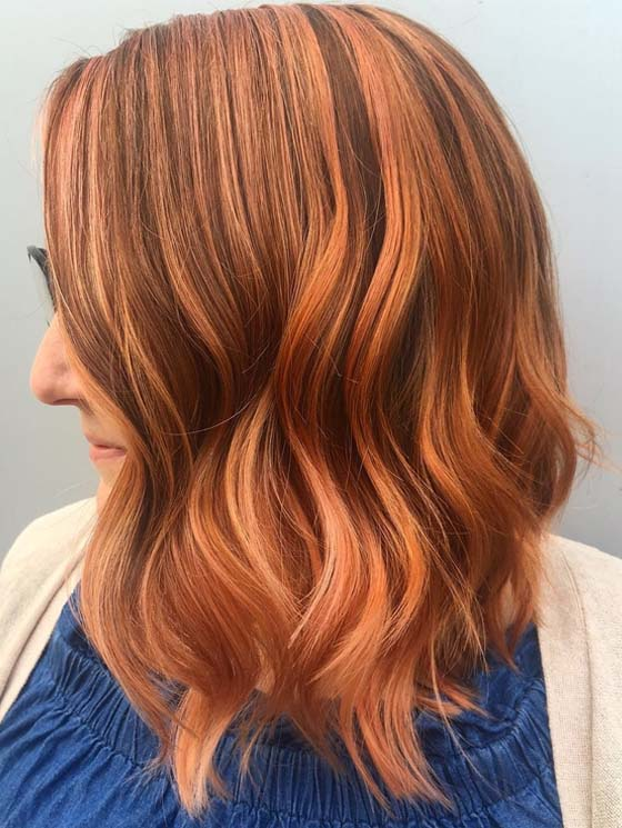Realness Of Rose Gold Hair Color Shades to Show Off in 2018