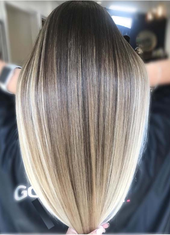 Seamless Blonde Hair Color Blends & Shades for 2018