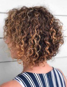 Short Curly Bob Hair Looks in 2018