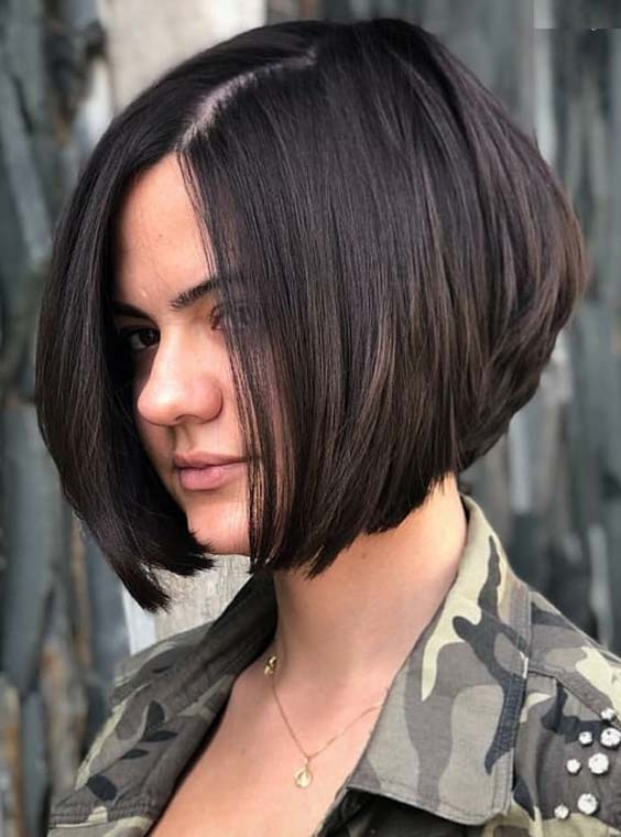 Best Ever Stacked Bob Haircuts for Women to Show Off in 2018