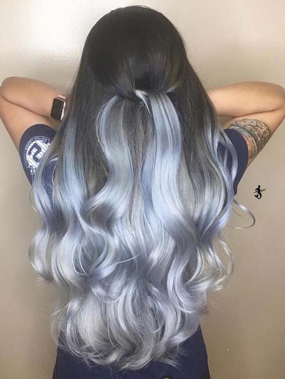 Stunning Sterling Silver Hair Color Trends in 2018