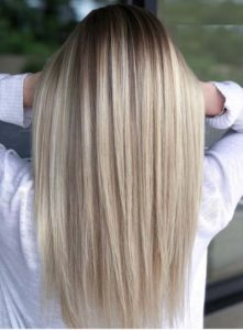 Straight Blonde Hair Styles for 2021