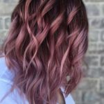 Stunning Pink Toned Balayage Hair Color Trends for 2021