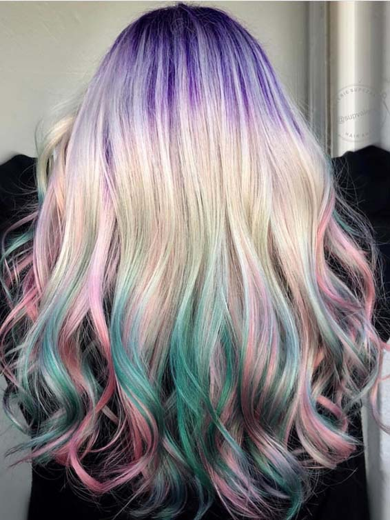 Super Pretty Pulp Riot Hair Color Tones to Show Off in 2018