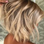 Textured Short Blonde Haircuts for Women 2018