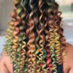 Beautiful Colorful Curls for 2018