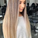 Blonde Balayage Straight Hairstyles for 2021