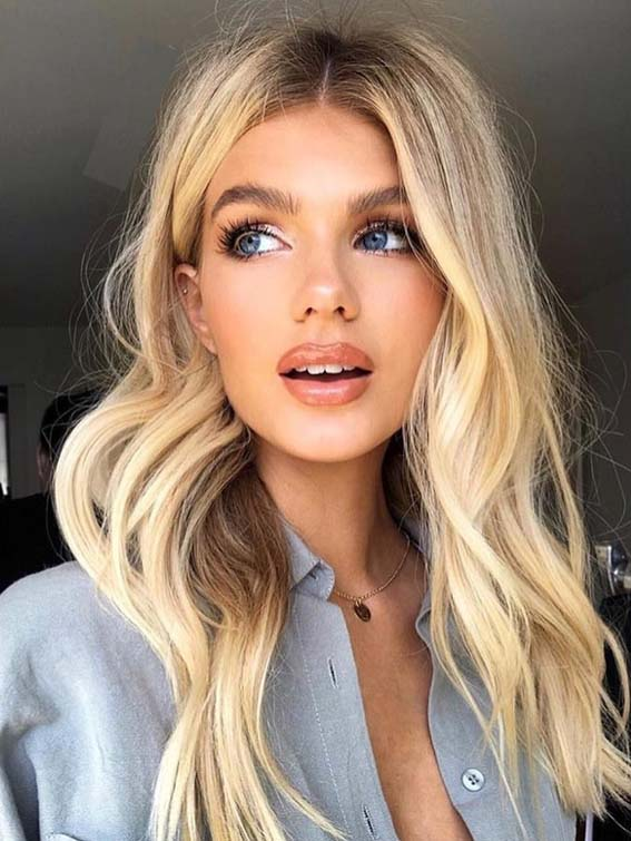 Gorgeous Buttercream Blonde Hair Color Ideas for 2021