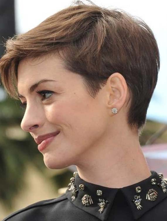 Hottest Celebrity Short Pixie Haircuts for 2018