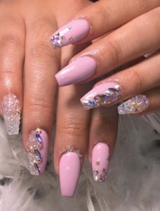Cutest Pink Nail Arts & Images for 2018