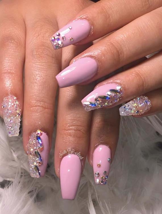 Cutest Pink Nail Arts & Images for Every Woman in 2018