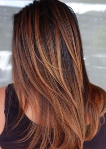 Gorgeous Blends Of Balayage Ombre Hair Colors in 2021