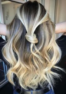 Knotted Blonde Hairstyles for Women 2018