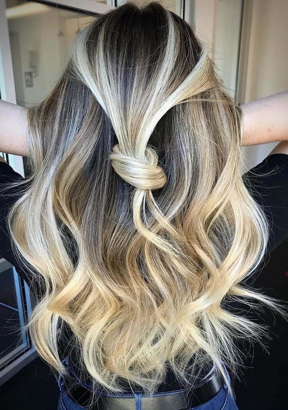 Cutest Knotted Blonde Hairstyles for Women 2018