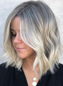 Medium Length Blonde Haircuts for 2021