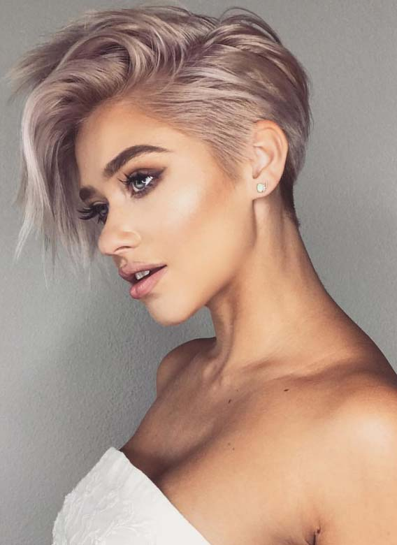Modern Short Haircuts for Women to Try in Year 2018